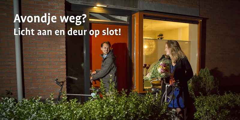Campagnemateriaal Donkere Dagen Offensief tegen woninginbraken